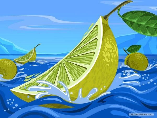 Limon en el agua-147762
